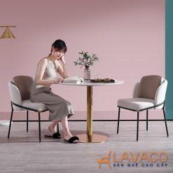 Bộ bàn tròn 2 ghế tiếp khách cho spa
